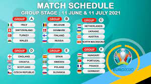 UEFA EURO 2020 FINALS DRAW: GROUP STAGE 2021 - YouTube