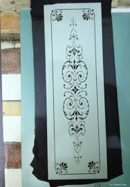 interior clear glass door. Sandblasted Glass Door Panel On A Clear Background Interior R