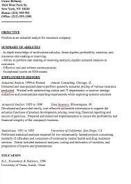 Actuary Resume Actuarial Analyst Resume Sample httpresumesdesignactuarial 79