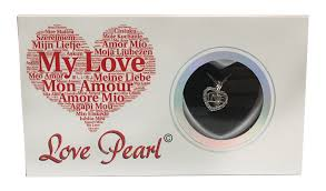 love wish purity pearl kit with pendant necklace gift box love