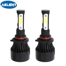<b>ASLENT</b> 4 side lumen H7 LED bulb <b>H4</b> H11 H8 H9 HB3 HB4 9005 ...