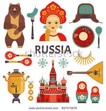 culture stock images royalty images vectors shutterstock russia icons set vector collection of russian culture and nature images including st