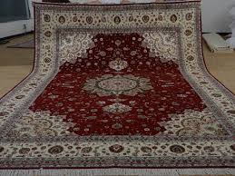 10 x 14 hand knotted brand new wool and silk sino persian tabriz oriental area rug 12980766 goodluck rugs
