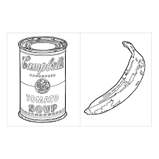 Cool Ideas Andy Warhol Coloring Pages Book Galison For Kids