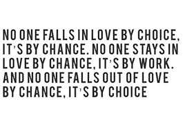 Love Choices Quotes Unique Its Choice Not Chance Research Paper Academic Writing Service