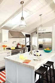 pendant lights for vaulted ceilings far fetched sloped ceiling kitchen lighting decorating ideas 9