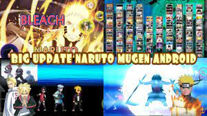 NEW BIG UPDATE! Bleach VS Naruto 3.3 MOD ALL NARUTO 175 CHARACTERS {DOWN...  in 2021   Naruto mugen, All anime characters, Naruto games