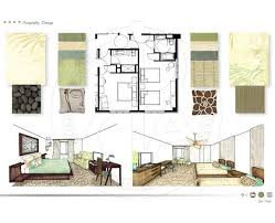 College Interior Design Plans