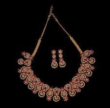 ruby diamond necklace sets
