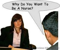 why do you want to be a nurse interview question and answer