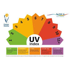 Uv Index Chart Today Uv Index Predicts The Intensity Of Uv Radiation At Noon