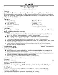 Team Lead Resume Professional Resume Templates