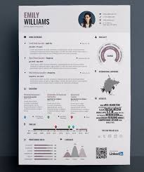 Graphic Resume Template 35 Infographic Resume Templates Free Sample Example  Format