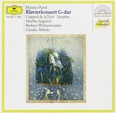 Maurice Ravel - <b>Martha Argerich</b>, Berliner Philharmoniker, <b>Claudio</b> ...