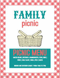 Picnic Template Picnic Template Postermywall
