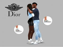 Hoi guyss welcome to my tumblr account! Air Dior Jordan 1 Pack The Sims 4 Download Simsdomination