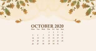 October 2020 Calendar Wallpapers - Top ...