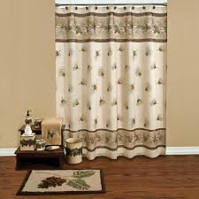 pine cone grove shower curtain collection