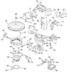 evinrude 28 spl ignition wiring diagram wiring library car mercury wiring diagram outboard johnson engine have serial there full size omc genuine parts evinrude