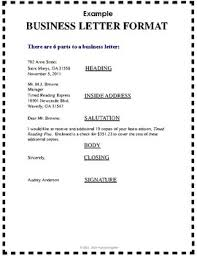 Free Business Letter Writing Format Reference Guide Handout