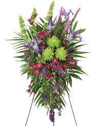 inspirational style funeral flowers