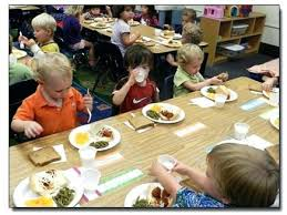 preschool lunch table. Preschool Lunch Table Children Also Learn What Is Considered Appropriate And Inappropriate Discussions As They R