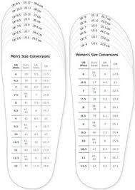 Nike Mens And Womens Shoe Size Chart Nike Sb Mens And Womens