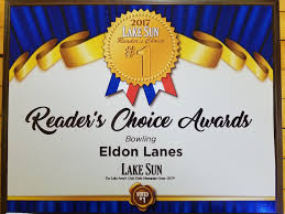 eldon lanes home thanks to all our loyal customers that voted us the number 1 bowling center at the lake we greatly appreciate your support