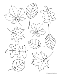 On november 9, 2019 by coloring.rocks! Autumn Leaves Kiddicolour Colouring Page Drawing Ture Coloring Pages Free Leaf Printable Maple 4 Clover Tropical Fall Oguchionyewu