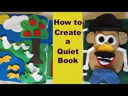 how to create a children s quiet book