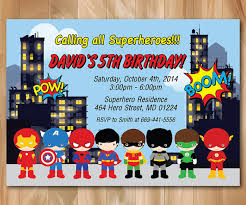 superheroes birthday party invitations super hero birthday party invitation superhero pop art bday invite