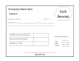 Payment Received Template Receipt Form Format Large Invoice