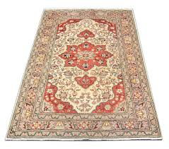 this is a unique example of turkish keysaree rug using traditional persian rug designs with