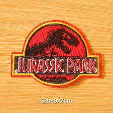 DIY <b>Jurassic</b> Park Patch <b>Dinosaur Patch</b> Military Badges Iron on ...