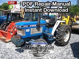 ford new holland 1920 2120 tractor repair manual manual vault