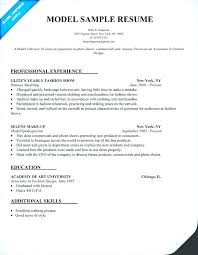 Sample Acting Resume Classy Model Resume Sample Modeling Template More Photos Download Child