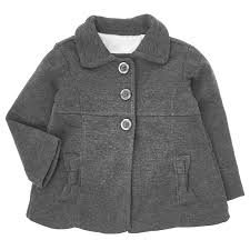 toddler girls faux fur lined peacoat 2t 4t