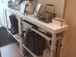 Superb Lacking A Console Table