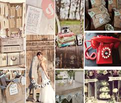 vintage themed wedding party ideas