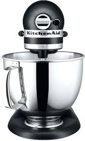all black kitchenaid mixer 2 of 4 artisan caviar 5 qt stand mixer 3 black kitchenaid