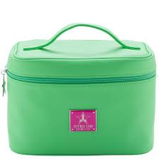 jeffree star cosmetics travel makeup bag green smear
