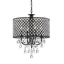 jojospring antique 4 light round chandelier