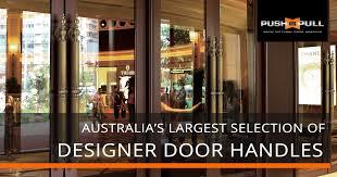designer door handles black door handles front door handles sydney pushorpull au