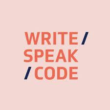 Write Speak Code Writespeakcode Twitter