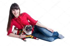 Фото: <b>девушка</b> и <b>мопс</b> | <b>Мопс</b> и <b>девушка</b>. <b>Девушка</b> и <b>мопс</b> собака ...