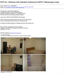 Top Craigslist 1 Bedroom Apartments On Up Searching In The 500 Or Less  Bracket Of Gta