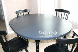 painted pedestal dining table medium size of pedestal table painted kitchen tables and chairs painted round