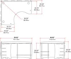 office desk sizes. Office Desk Size. Dimensions Corner Height Throughout Plans 10 Size Sizes