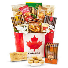 made in canada gourmet basket