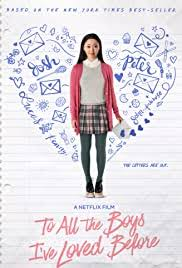 It's very satisfying, like, 'yes, girl! To All The Boys I Ve Loved Before 2018 Imdb